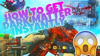 *NEW* BO4 GLITCHES: INSANE INSTANT DARK MATTER CAMO ON ANY GUN GLITCH! INSTANT DARK MATTER/DIAMOND!