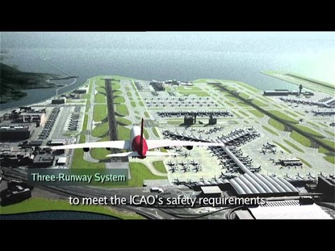 Megastructure Hong Kongs Airport Part 2 Construction Documenrary.