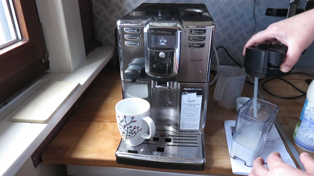 Favorit Saeco Incanto Kaffeevollautomat im Test - YouTube SX64