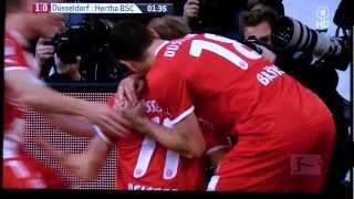 BL Relegation 2012 Fortuna Düsseldorf : Hertha BSC 1:0 durch M. Beister