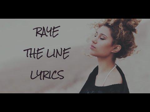 THE LINE - Raye lyrics official audio