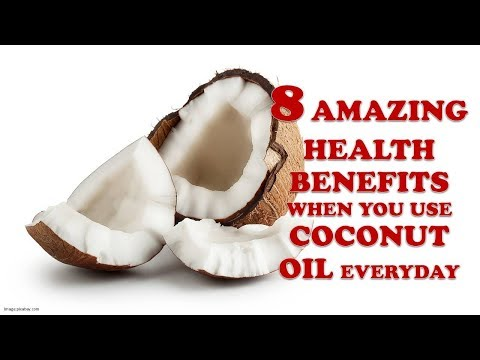 8 Health Benefits of Coconut Oil