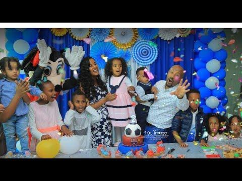 Ethiopian artist and Tv host Seifu Fantahun son birthday የሰይፉ ፋንታሁን ልጁ ልደት