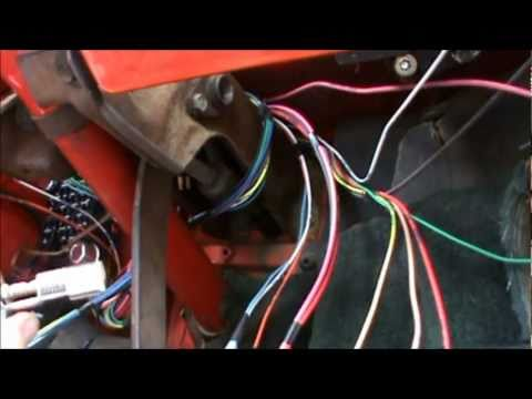 1976 corvette dash wiring diagram for club car starter generator how to install a harness in 1967 1972 chevy truck part 1 - youtube