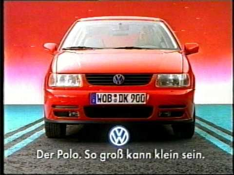 Vw Polo Xxl Werbung 1996 Youtube