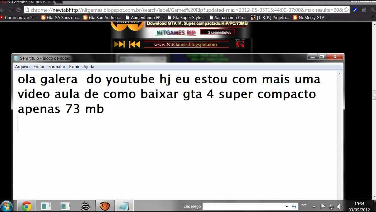 COMPACTADO PC SUPER IV BAIXAR GTA