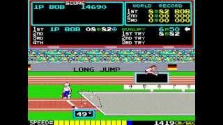 Hyper Olympic © 1983 Konami