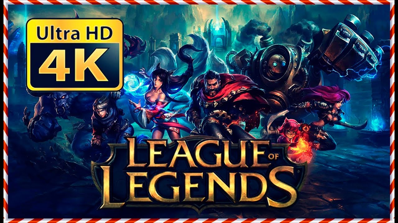 League Of Legends 4k Uhd Youtube