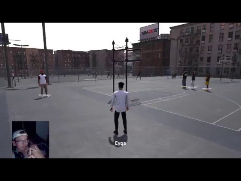 Daily FACECAM Stream #8- PS4 NBA 2K18 STREAKING PARK/STAGE