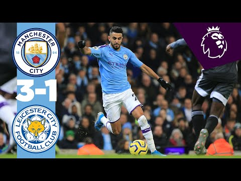 MANCHESTER CITY 3-1 LEICESTER | HIGHLIGHTS