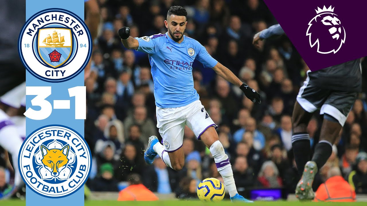 MANCHESTER CITY 3-1 LEICESTER | HIGHLIGHTS & DE BRUYNE REACTION - YouTube
