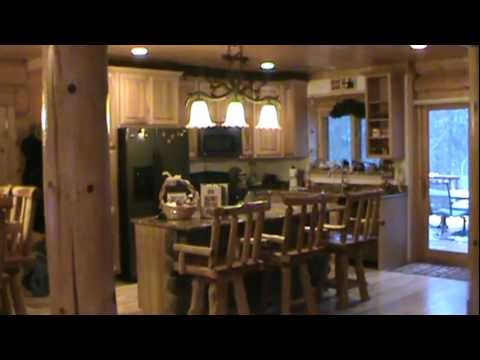 Lake Geneva Log Home Vacation Rental