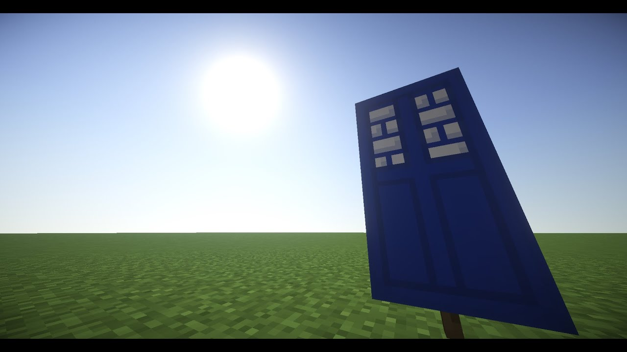 How To Make A Tardis Banner In Minecraft Youtube