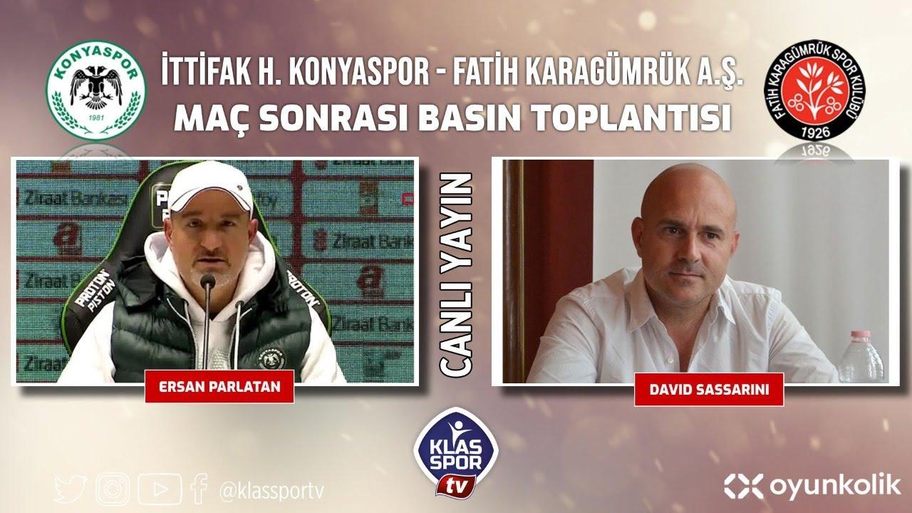 Konyaspor- Karagümrük Basın Toplantısı ᴴᴰ (CANLI)