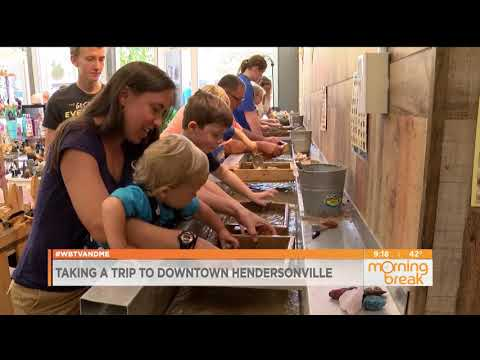 Downtown Hendersonville (NC) Featured on WBTV's Morning Break