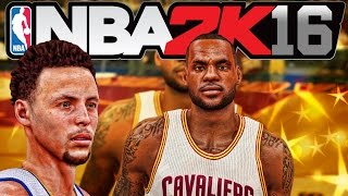NBA 2K16 Official GAMEPLAY - Golden State Warriors vs Cleveland Cavaliers