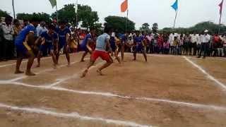 Kabaddi match in Nadigadda village, vinukonda, guntur