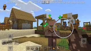 Tải về ngay minecraft 1.10.0.3 dân làng mới,làng mới,dân làng biết ngủ