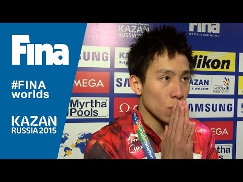 Chao He: winner of Men's 3m Springboard in Kazan (RUS)