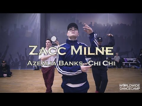 Zacc Milne || Azealia Banks - Chi Chi || WWDC WEEKEND 13-14 Jan. 2018, Moscow