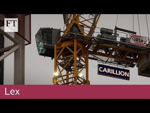 Why Carillion went into liquidation