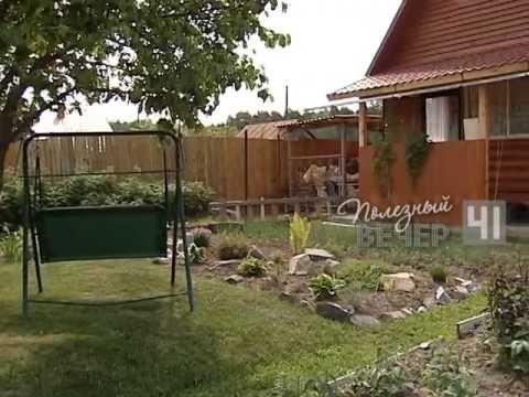 видео: Украшаем садовый участок