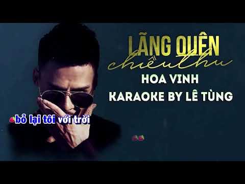 Lãng Quên Chiều Thu (Karaoke) - Hoa Vinh Cover