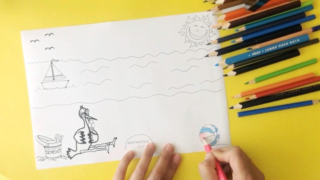 Diy Crafts For Kids 3 Boyutlu Semsiye Yaz Mevsimi Etkinligi