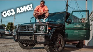 BUYING MY DREAM CAR AT 21! *NOT CLICKBAIT*  2018 G63 AMG!