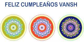Vansh   Indian Designs - Happy Birthday