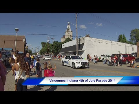 Vincennes Indiana July 4th 2014 Parade