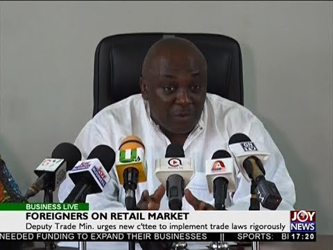 Foreigners on Retail Market - Business Live on JoyNews (14-5
