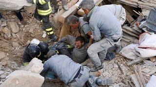 24 Agosto 2016 il terremoto del Centro Italia tutto in un video