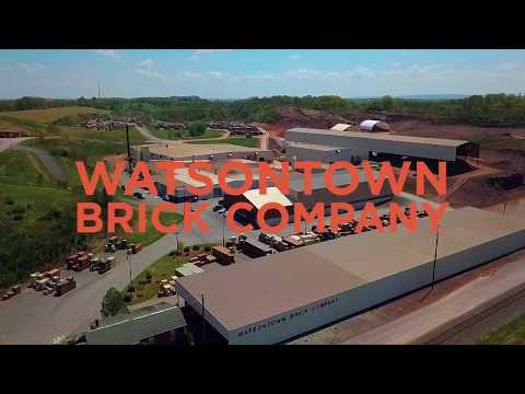 The Manufacturing Process At Watsontown Brick Company