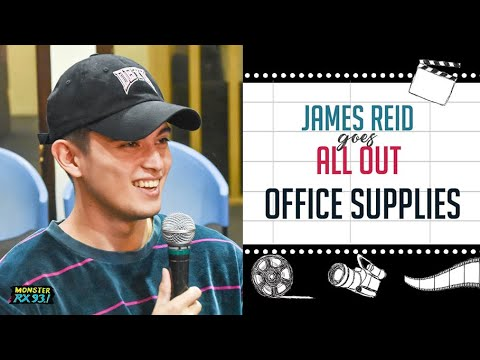 JAMES REID X OFFICE SUPPLIES | From Roccin Off-White To Roccin Staples? LOL