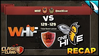 *CWL* Final Attacks | WHF vs OneHive - Week 2 | Clash of Clans