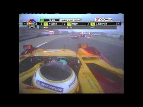2008 Laguna Seca Race Broadcast - ALMS - Tequila Patron - Racing - Sports Cars - Mazda Raceway