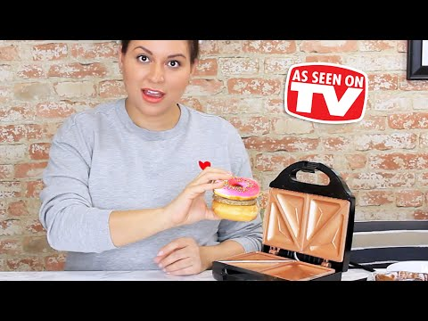 Gotham Steel Sandwich Grill Review - Testing As Seen On TV Products
