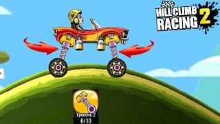 Новая деталь АМОРТИЗАТОР ПРЫГАЛКА в Hill Climb Racing 2 игра про машинки ВЕСЕЛЫЕ гонки ВИДЕО ДЕТЯМ