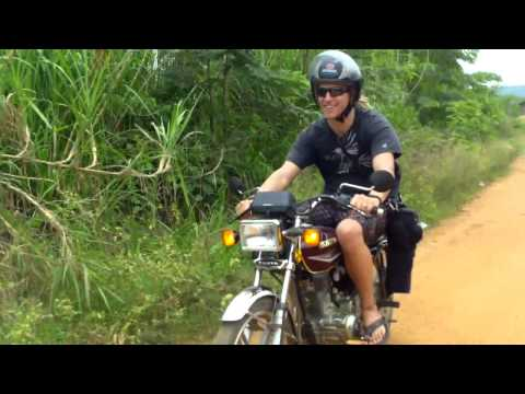 Searching for Tribal art and Reptiles in Ghana on Motorcycles