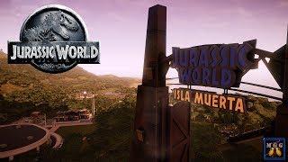 Restoring Isla Muerta   Jurassic World: Evolution Episode 6