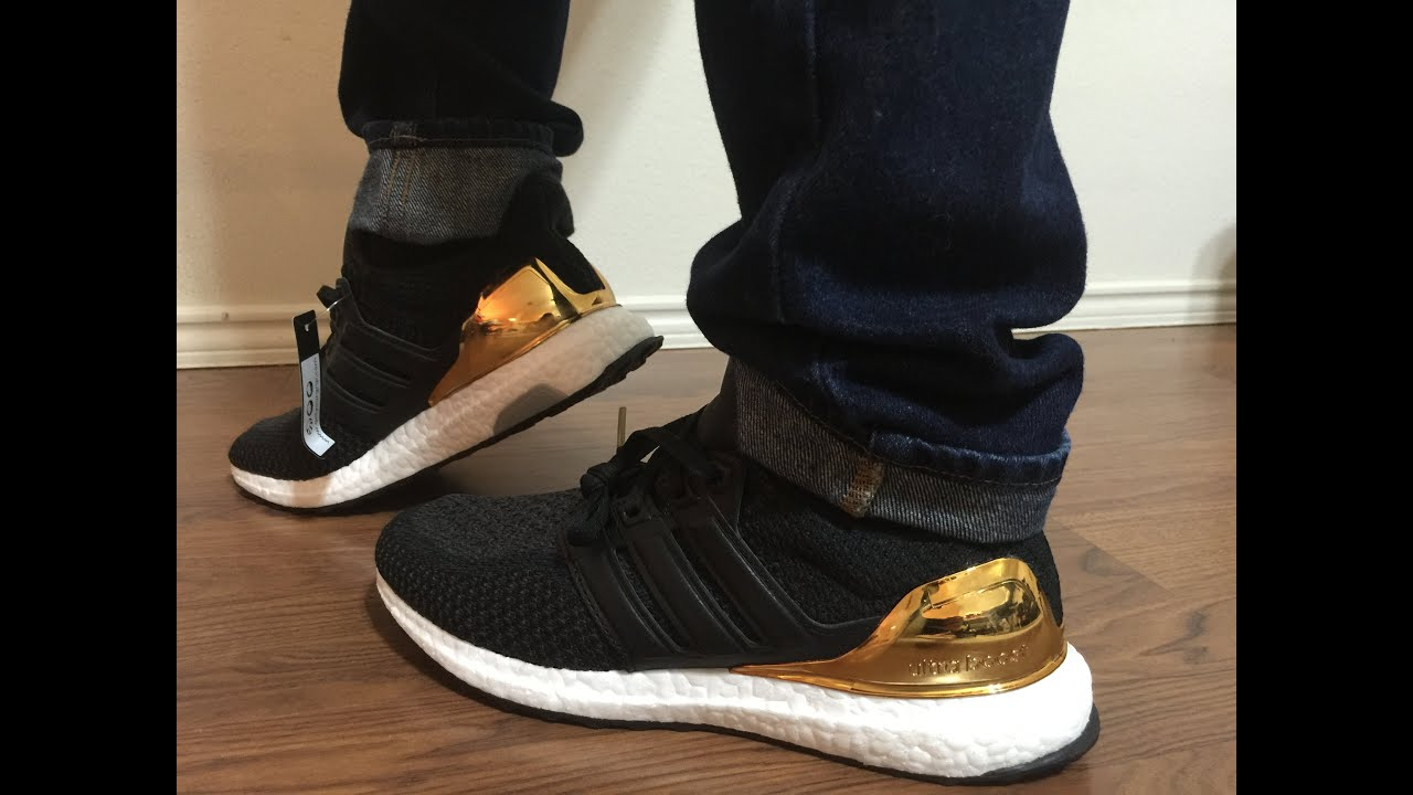 ultra boost gold