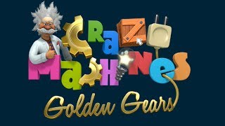 Crazy Machines Golden Gears 3 stars solution - Levels 1-10