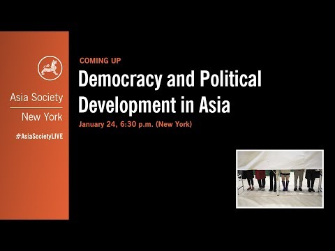 Democracy and Political Development in Asia