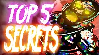 """Top 5"" ""Kino der Toten Secrets""/""Kino der Toten Fun Facts"" ""CoD Zombies"" ""Kino Easter Eggs""!"