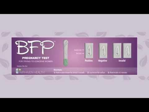 BFP Midstream Pregnancy Tests