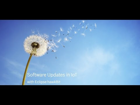 Software Updates in IoT with Eclipse hawkBit
