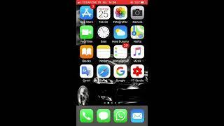 iPhone Mikrofon Sorunu Ayarı İos 11 Sesli Ekran Kaydı ve Mikrofon Açma