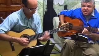 Hino 359 CCB - Viola Caipira e Violão.Rosário e Ivan.