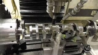 Model Engine Crankshaft Machining -Terry Mayhugh